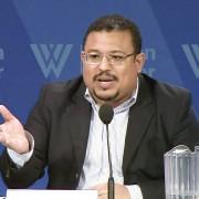 Omar Rivera, coordinador de la Alianza por la Paz y la Justicia.